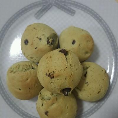 抹茶红豆麻薯
