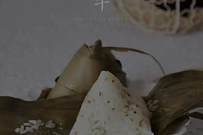 桂花蜜豆粽子