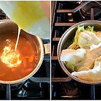 一碗简易鸡蛋蔬菜素粉#520,美食撩动TA的心!#的做法图解5