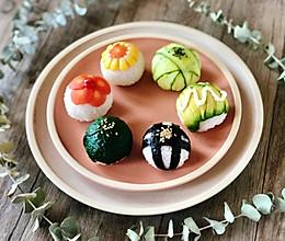 玲珑可爱的手鞠寿司,吃一口满满的幸福感#换着花样吃早餐#的做法