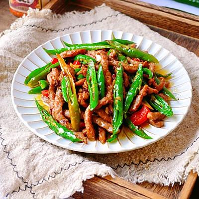 超简单的杭椒牛柳