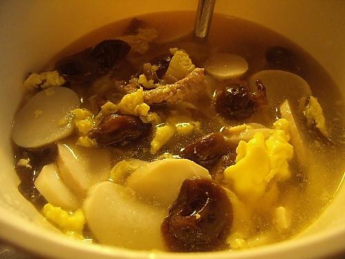 杏鲍菇蛋汤的做法