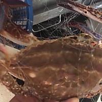 香辣梭子蟹烩年糕的做法图解3