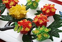 牡丹花饺子#金龙鱼专业饺子粉#的做法