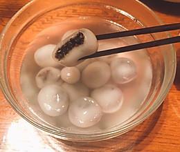 果仁汤圆——汉中的汤圆的做法