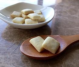 牛奶小方块~口袋健康小饼干的做法
