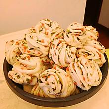 香肠葱花卷