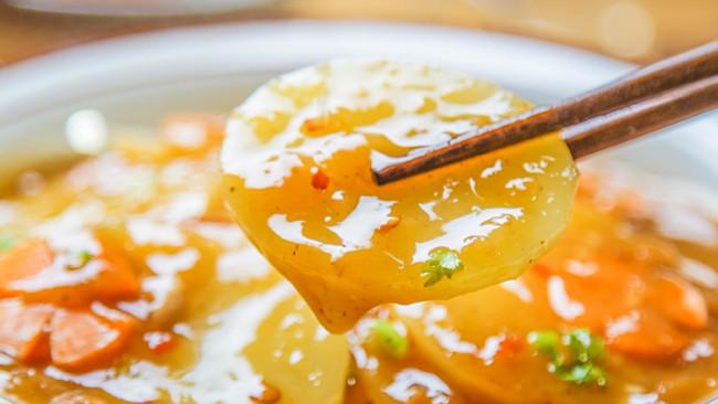 卤汁土豆片的做法
