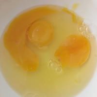 鸡蛋饼?鸡蛋卷?的做法图解1