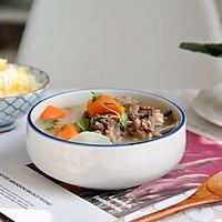 萝卜羊排骨汤#肉食者联盟#的做法图解14