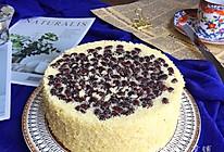 蜜红豆小米蒸蛋糕的做法
