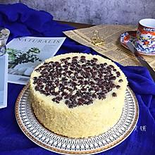 蜜红豆小米蒸蛋糕