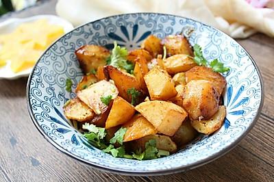 孜然味香烤土豆