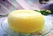 #换着花样吃早餐#松软绵密的蒸蛋糕的做法