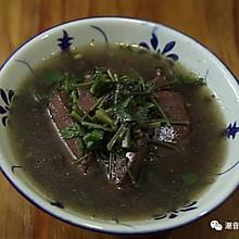 潮音潮人:潮汕猪血汤