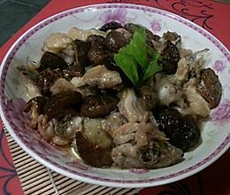 家常蒸菜:冬菇鸡肉美味蒸的做法