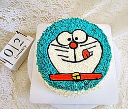 哆啦A梦生日蛋糕的做法