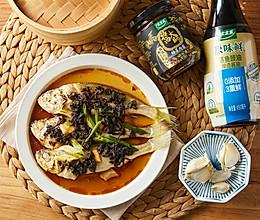 梅菜酱香蒸黄鱼的做法