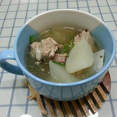 排骨藕汤/萝卜排骨汤(省事的紫砂锅)