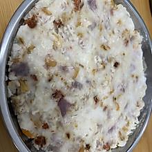 虾米瑶柱腊肠芋头糕