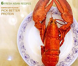 清蒸大龙虾的做法
