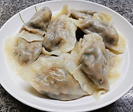 韭菜猪肉饺子 (酱香版)的做法