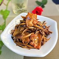 五花肉茶树菇