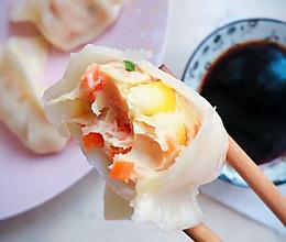 低脂饺子——蔬菜鸡肉水饺的做法