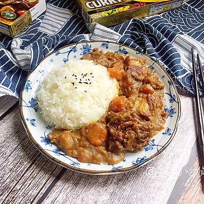 日式咖喱饭 家庭方便版