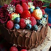 圣诞节巧克力蛋糕的做法图解9