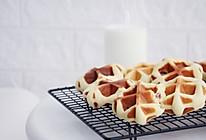 简易版蜜豆华夫饼的做法