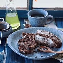 巧克力法棍面包