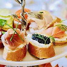 英式下午茶之:多味三文治