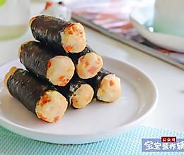 日式鸡肉海苔卷的做法