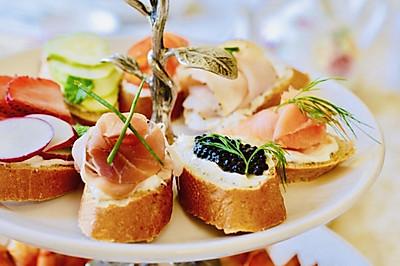 英式下午茶之2:多味三文治
