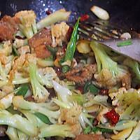 干锅菜花的做法图解7