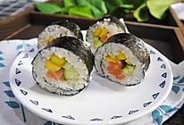 藜麦三文鱼寿司卷的做法