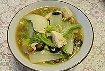 慢熬白菜冻豆腐的做法