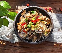 #钟于经典传统味#辣炒蛤蜊的做法