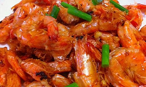 酥脆煎虾的做法