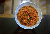 凉拌胡萝卜丝的做法