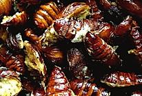油炸开边蚕蛹的做法