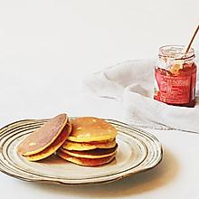 玉米铜锣烧#柏翠辅食节-健康食疗#