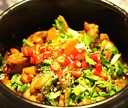 低脂高蛋白的干锅牛蛙的做法