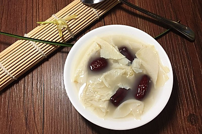 红枣油豆皮