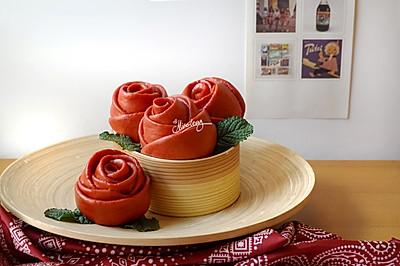 玫瑰馒头_为祖国献束花