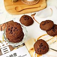 #带着美食去踏青#淡奶油巧克力软曲奇的做法图解10