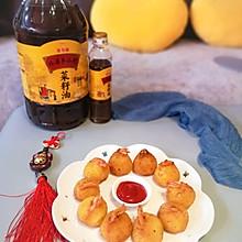 #福气年夜菜#团团圆圆黄金虾球