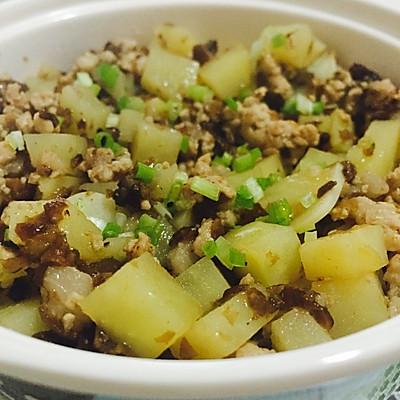 肉末土豆丁——宝宝菜