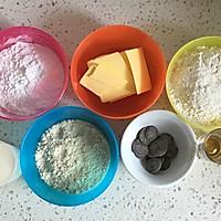 朗姆巧克力夹心饼干#美的烤箱菜谱#的做法图解1